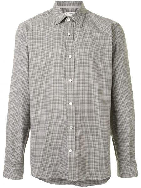 Koszula bawełniana z długimi rękawami zapinane na guziki Gieves & Hawkes
