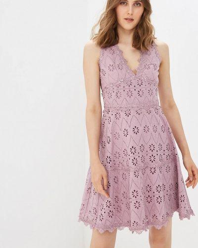 Платье розовое Lusio