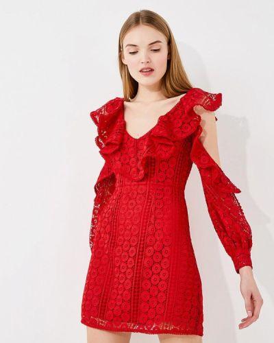 Красное платье French Connection