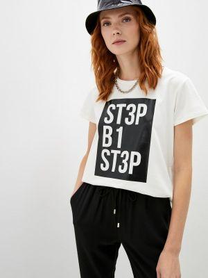 Белая футболка осенняя Liu Jo Sport