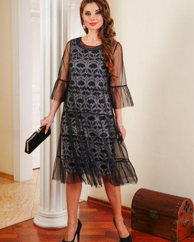 Облегающее платье футляр с пайетками Salvi-s