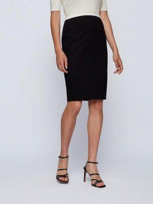 Черная юбка Boss