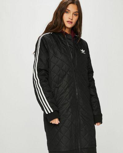 Стеганая куртка с карманами утепленная Adidas Originals