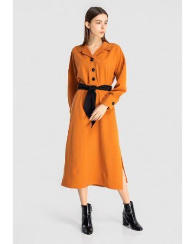 Платье - желтое Grass