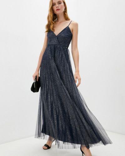 Синее вечернее платье Liu Jo