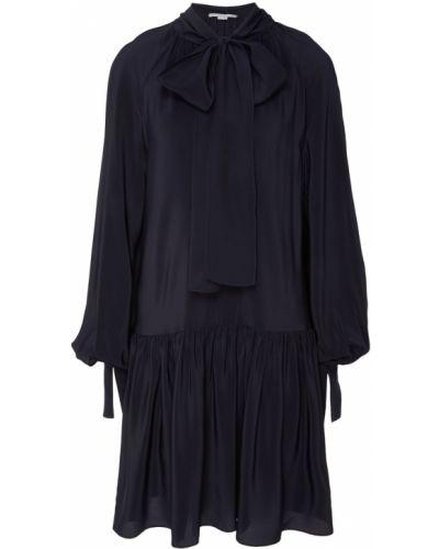 Платье с заниженной талией шелковое Stella Mccartney