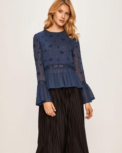 Блузка с вышивкой из вискозы Pepe Jeans