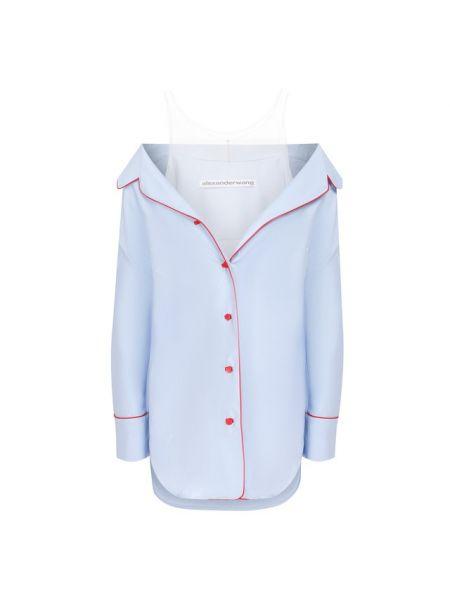 Рубашка шелковая Alexander Wang