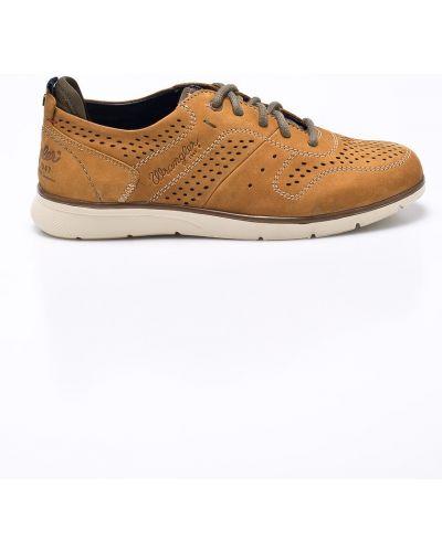 Туфли на шнуровке текстильные Wrangler