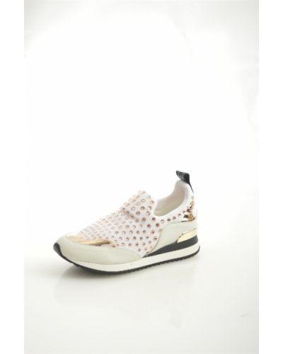 Кроссовки замшевые белый Liu Jo