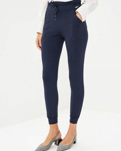 Синие брюки повседневные Bruebeck