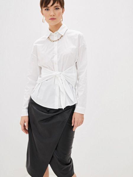 Рубашка с длинным рукавом белая Patrizia Pepe