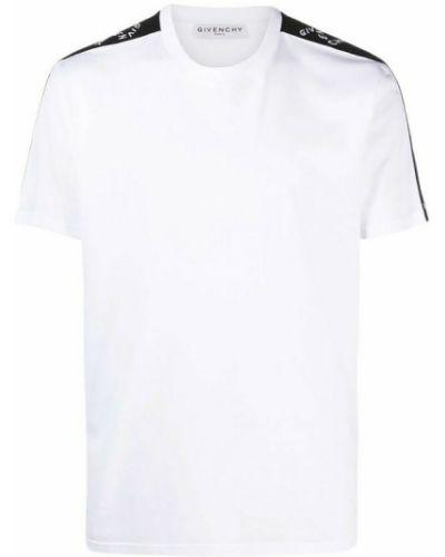 T-shirt bawełniana - biała Givenchy