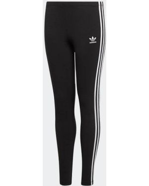 Черные кроссовки с нашивками Adidas Originals