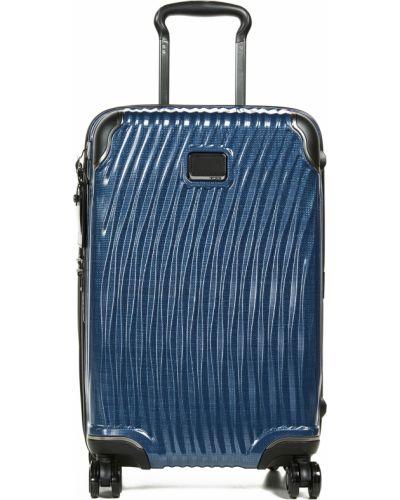 Baza włókienniczy walizka prążkowany Tumi
