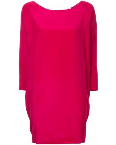Платье розовое платье-комбинация Costume National