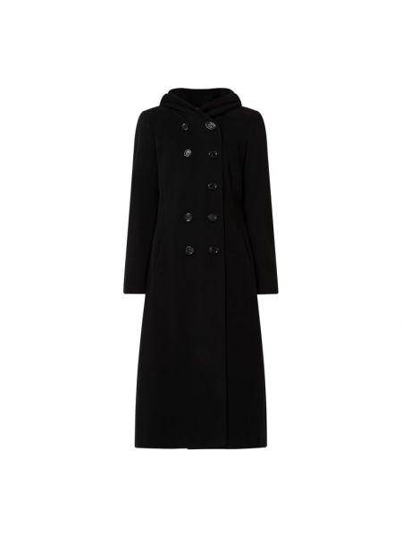 Czarny z kaszmiru płaszcz Fuchs Schmitt