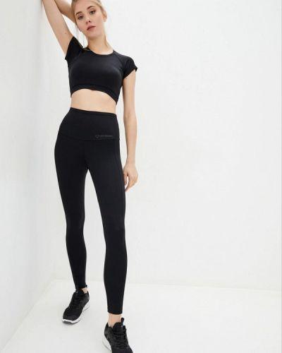 Костюмный черный спортивный костюм для фитнеса Go Fitness