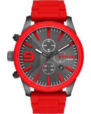 Zegarek czerwony Diesel