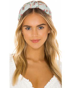 Niebieski kapelusz Lele Sadoughi
