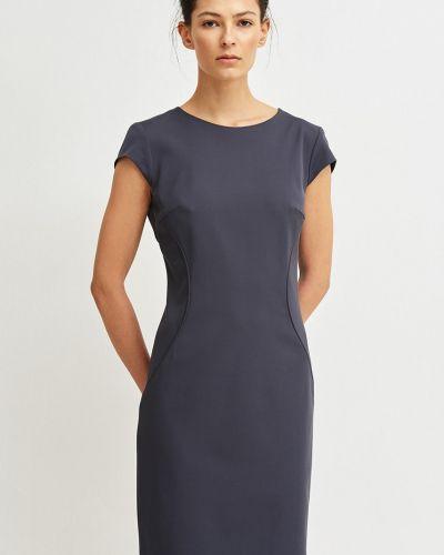 Платье мини облегающее из вискозы Simple