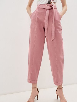 Повседневные розовые брюки Ted Baker London