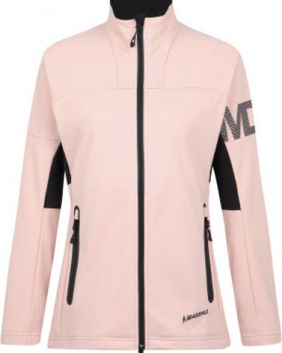 Розовая куртка для бега с капюшоном Madshus