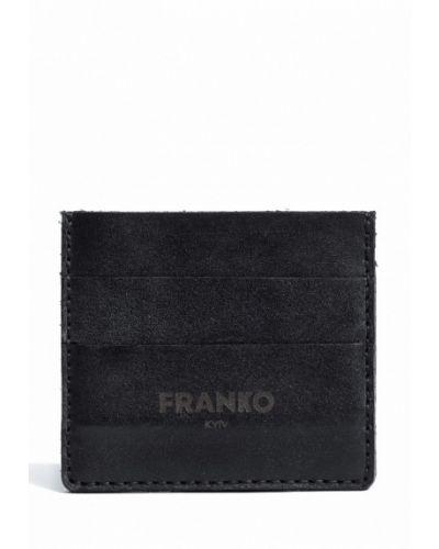 Черная визитница Franko