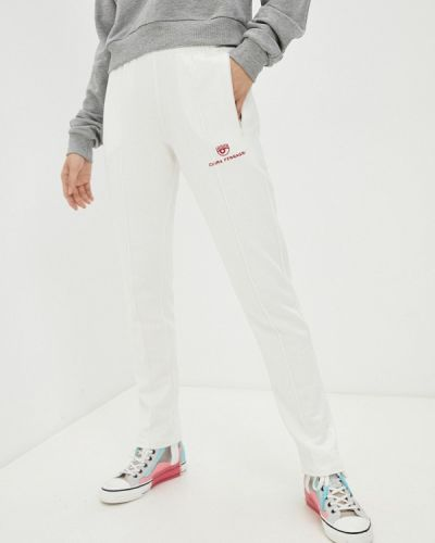 Белые спортивные брюки Chiara Ferragni Collection
