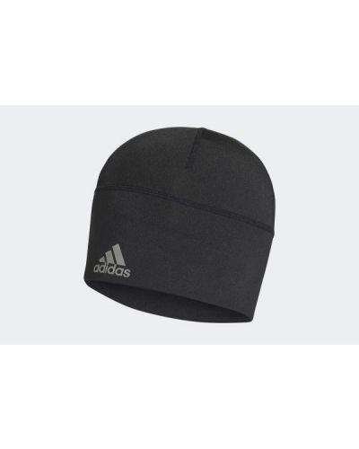 Czapka beanie - czarna Adidas