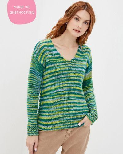 Зеленый пуловер Rinascimento