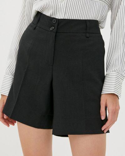 Повседневные черные шорты Dlys