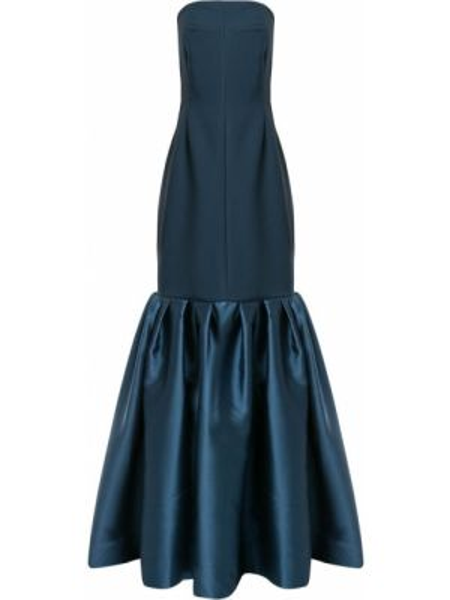 Платье макси на молнии годе Solace London