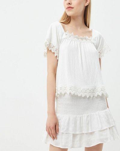 Белая блузка кружевная Jennyfer