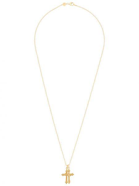 Ожерелье из золота золотой Northskull