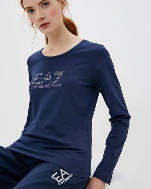 Поло синий Ea7