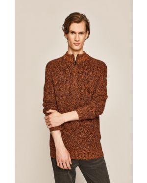 Sweter z wzorem z raglanowymi rękawami Medicine