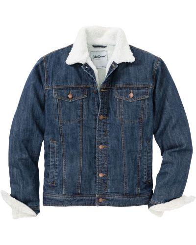 Джинсовая куртка классическая Bonprix