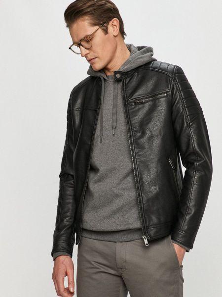 Куртка с карманами - черная Produkt By Jack & Jones