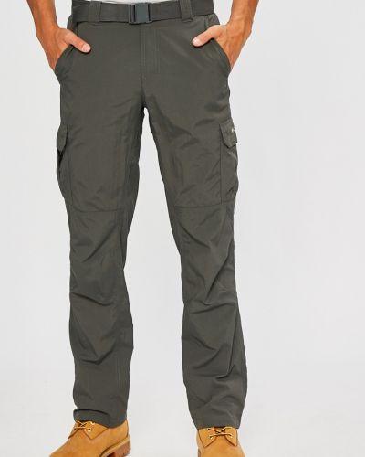 Прямые брюки с карманами серые Columbia