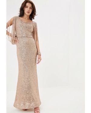Вечернее платье турецкий золотой Joymiss