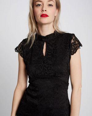 Блузка с коротким рукавом черная Morgan