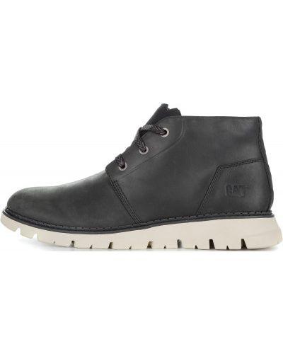 Кожаные ботинки теплые мембранные Caterpillar