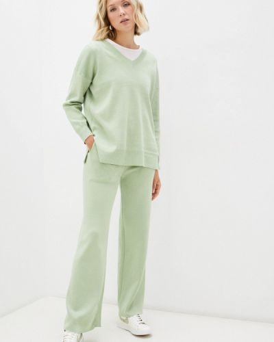 Зеленый костюм осенний Goldrai