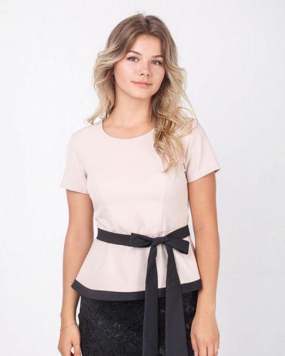 Блузка бежевый Zubrytskaya