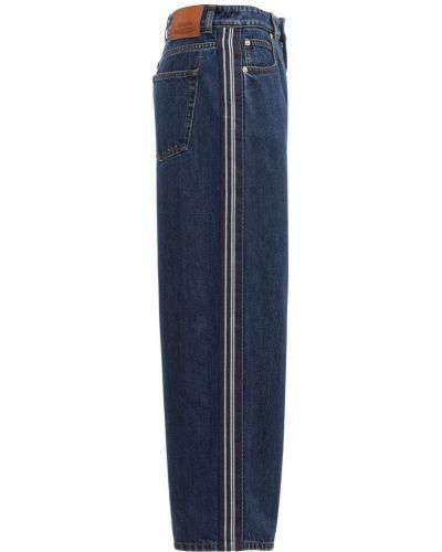 Синие джинсы Alexander Mcqueen