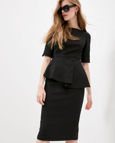 Черное платье-футляр Ted Baker London