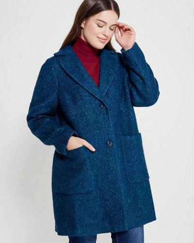 Синее пальто осеннее синар