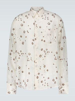 Коричневая облегченная классическая рубашка с воротником на пуговицах Cmmn Swdn
