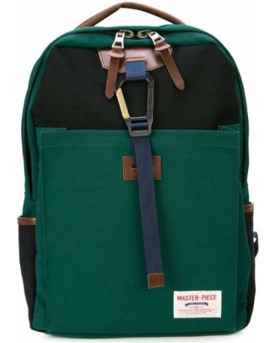 Рюкзак открытый зеленый Master Piece